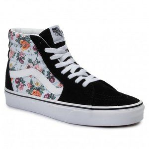Vans Garden Floral Sk8-Hi Zip Shoes
